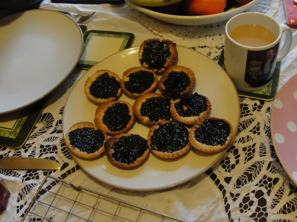 Blackberry Jam Tarts